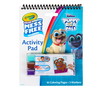 Color Wonder Mess Free Puppy Dog Pals Activity Pad, Front View