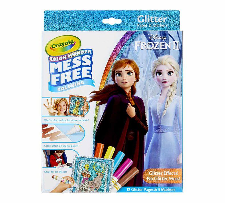 Color Wonder Mess Free Frozen 2 Glitter Effects Set