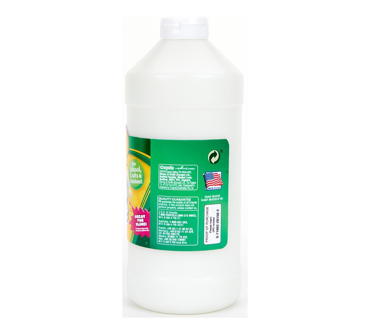 32oz Crayola Washable School Glue For Kids Crayolacom Elmers 225 Ml Sslimeaviv Shop Tictail