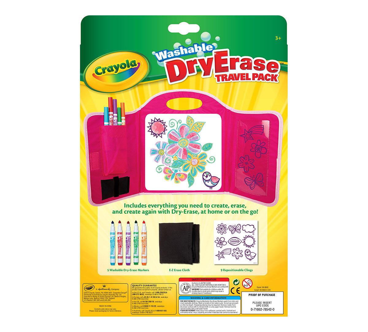 crayola dry erase travel pack for kids crayola com