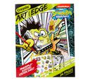 Art With Edge, Nickelodeon SpongeBob Squarepants Coloring Pages Front Cover View