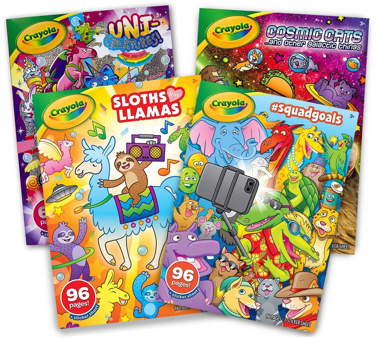 - Animal Coloring Books, Cats, Unicorns & More Crayola.com Crayola