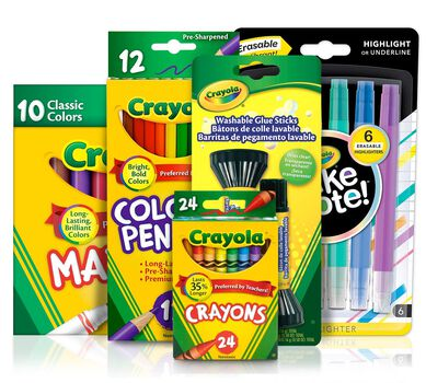 Back to School Set, Coloring Supplies | Crayola.com