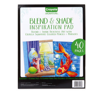 Signature Series Blend and Shade Inspiration pad front