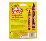 Crayola Jumbo Crayons 16 count front view