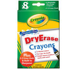 Dry-Erase Crayons 8 ct.