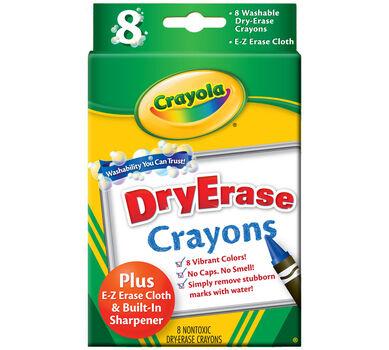 dry erase crayons 8 ct