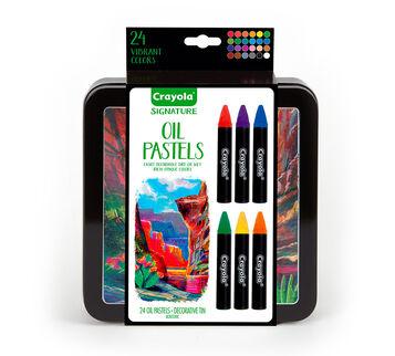 Signature 24 ct. Oil Pastels w/Tin