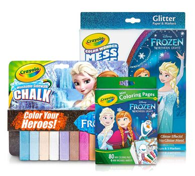 Frozen Coloring Activity Gift
