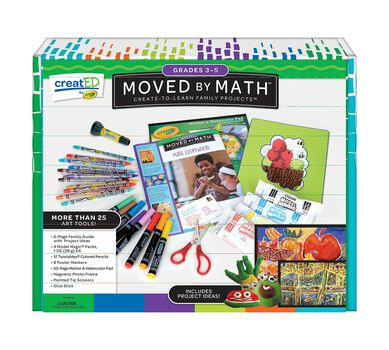 creatED® Family Engagement Kits, Moved by Math: Grades 3-5: Math Everywhere, 30 Count
