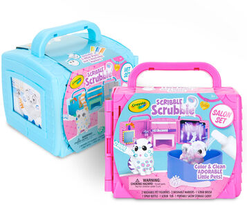 Scribble Scrubbie Pets Beauty Salon & Vet Sets
