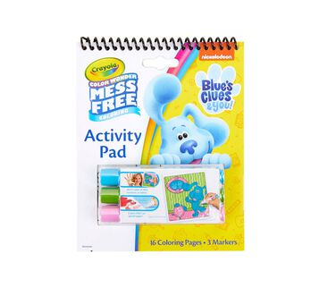 Blue's Clues & You Color Wonder Activity-Pad front of pad