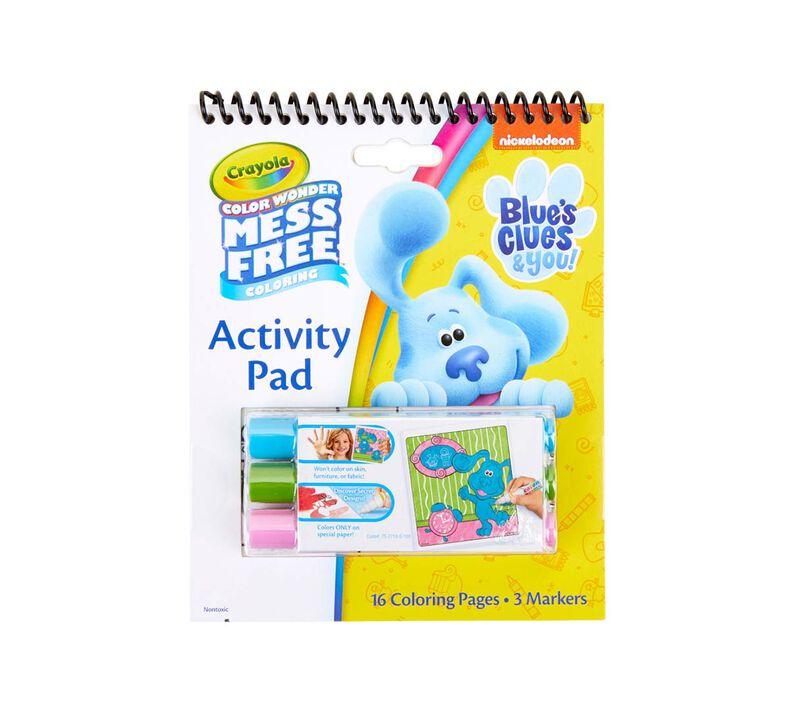 Color Wonder Mess Free Blue's Clues Coloring & Activity Pad