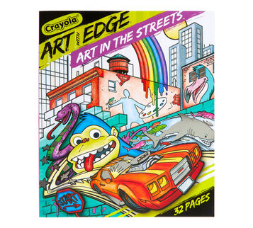 Art with Edge Art in the Streets Front View of Book