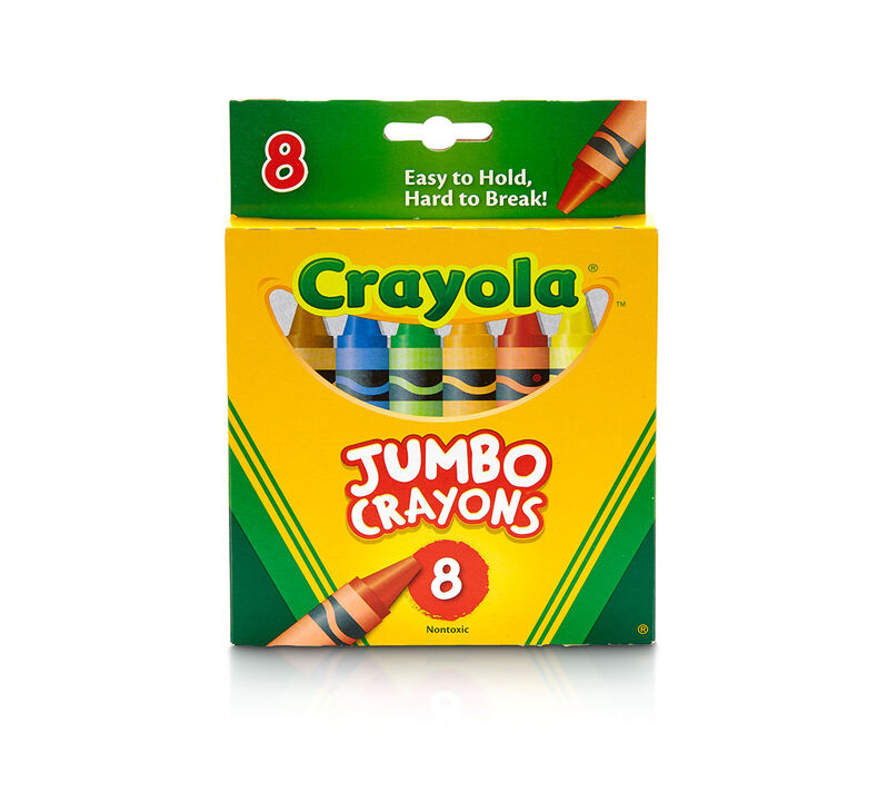 Crayola Jumbo Crayons 8 ct.