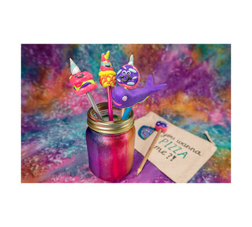 Unicreatures Craft Kit, A Twist on Unicorn Crafts, Set of 4