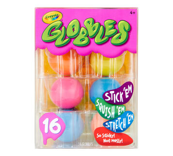 16 count Globbles front view