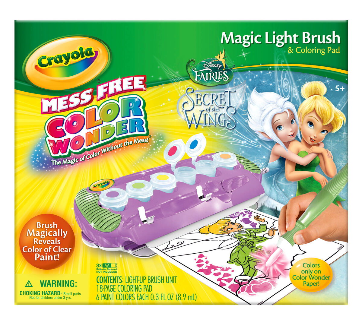 Color Wonder Magic Light Brush - Fairies