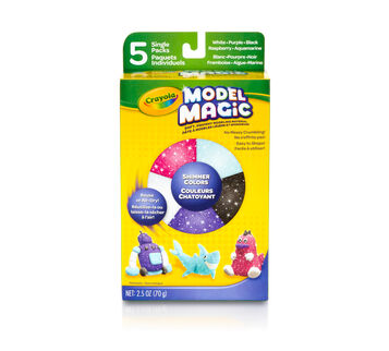 Model Magic Shimmer Colors