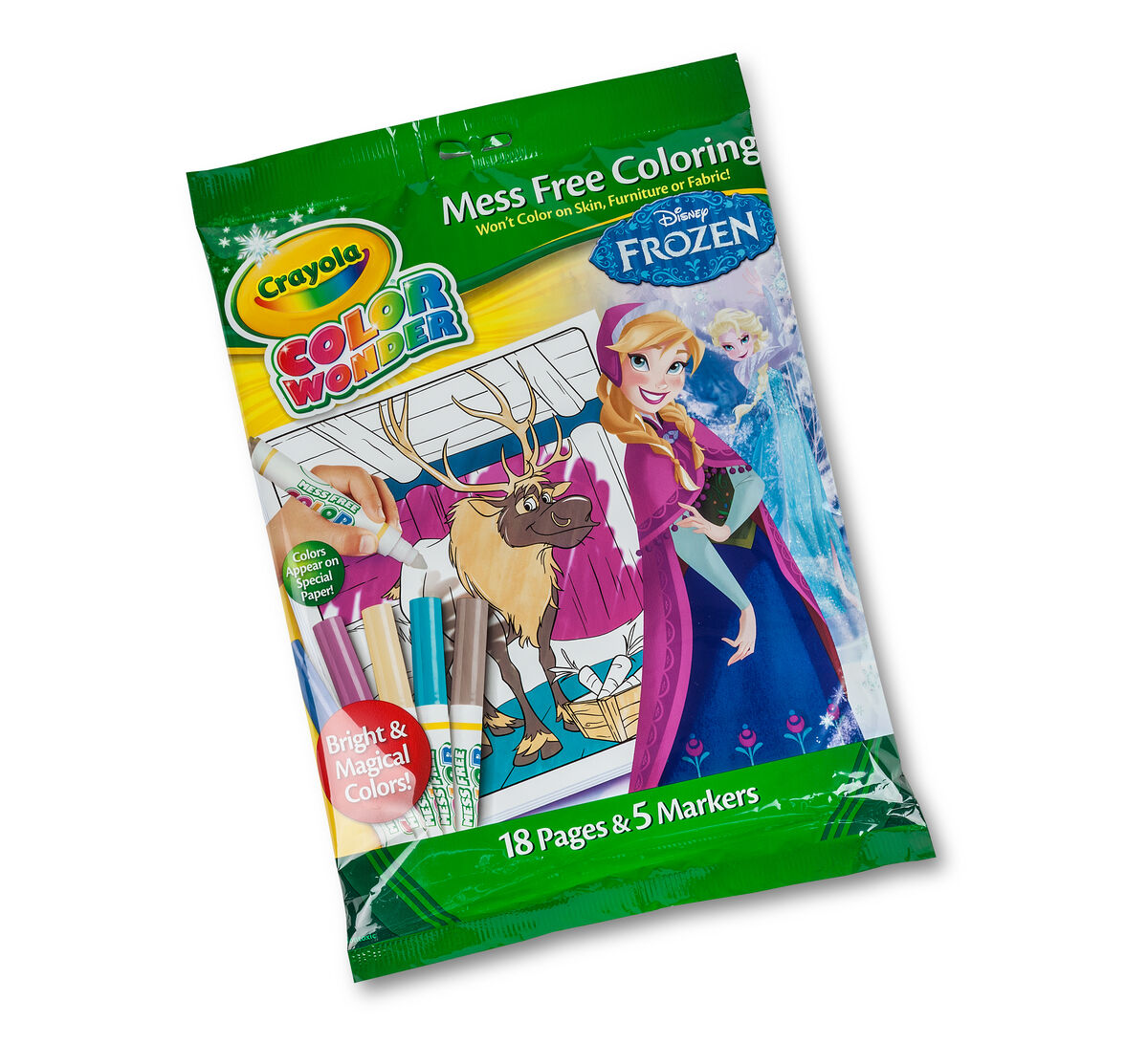 Crayola Mess Free Coloring Book Coloring Page