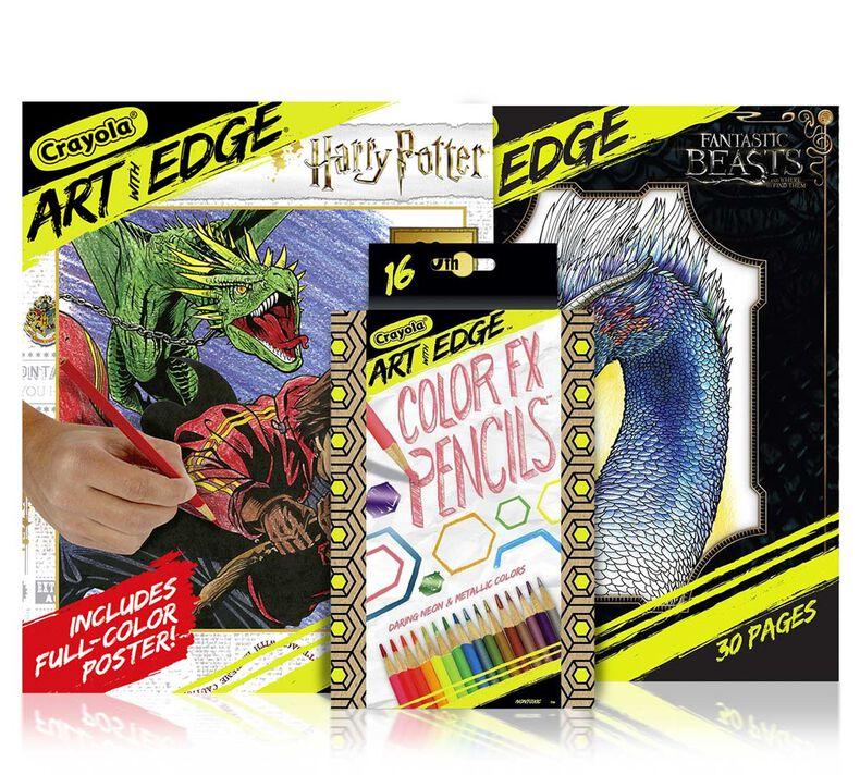Harry Potter & Fantastic Beasts Coloring Set