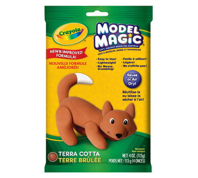 Model Magic 4-oz. Pouch of Terra Cotta