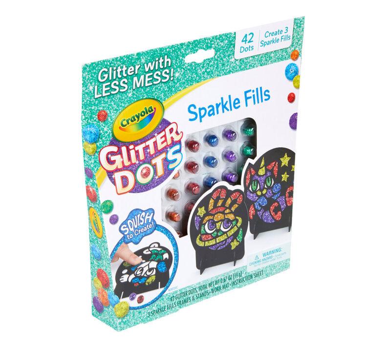 Glitter Dots Sparkle Fills