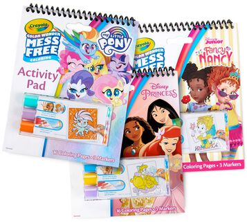 3-in-1 Color Wonder Mess Free Pink Activity Pad Set
