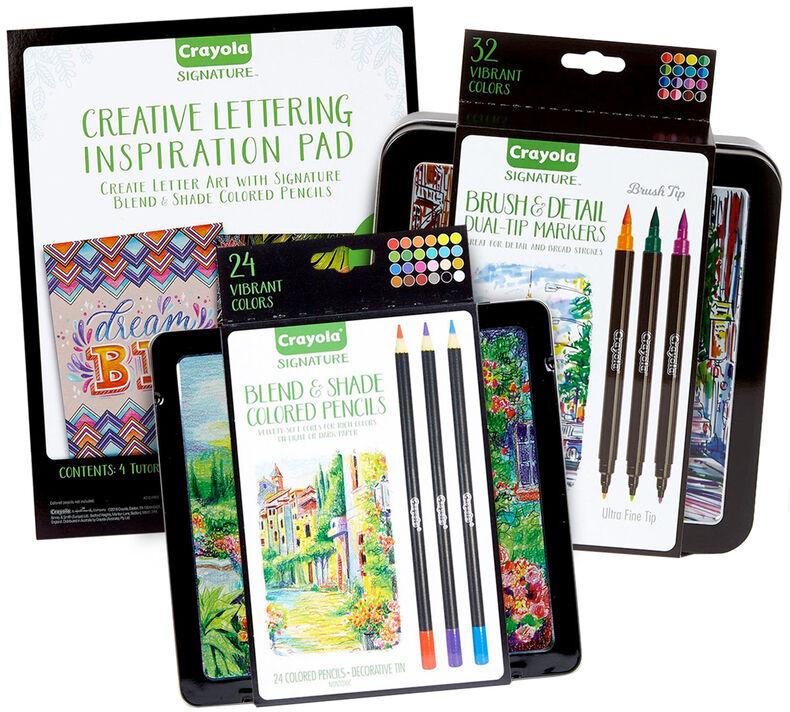 Signature Hand Lettering Tools & Tutorials Kit