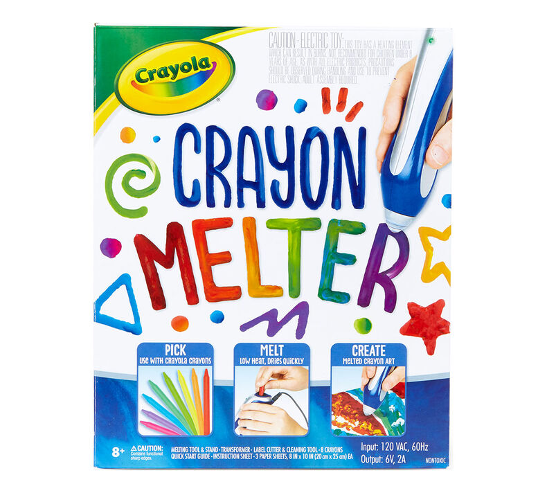 Blue Crayon Melter