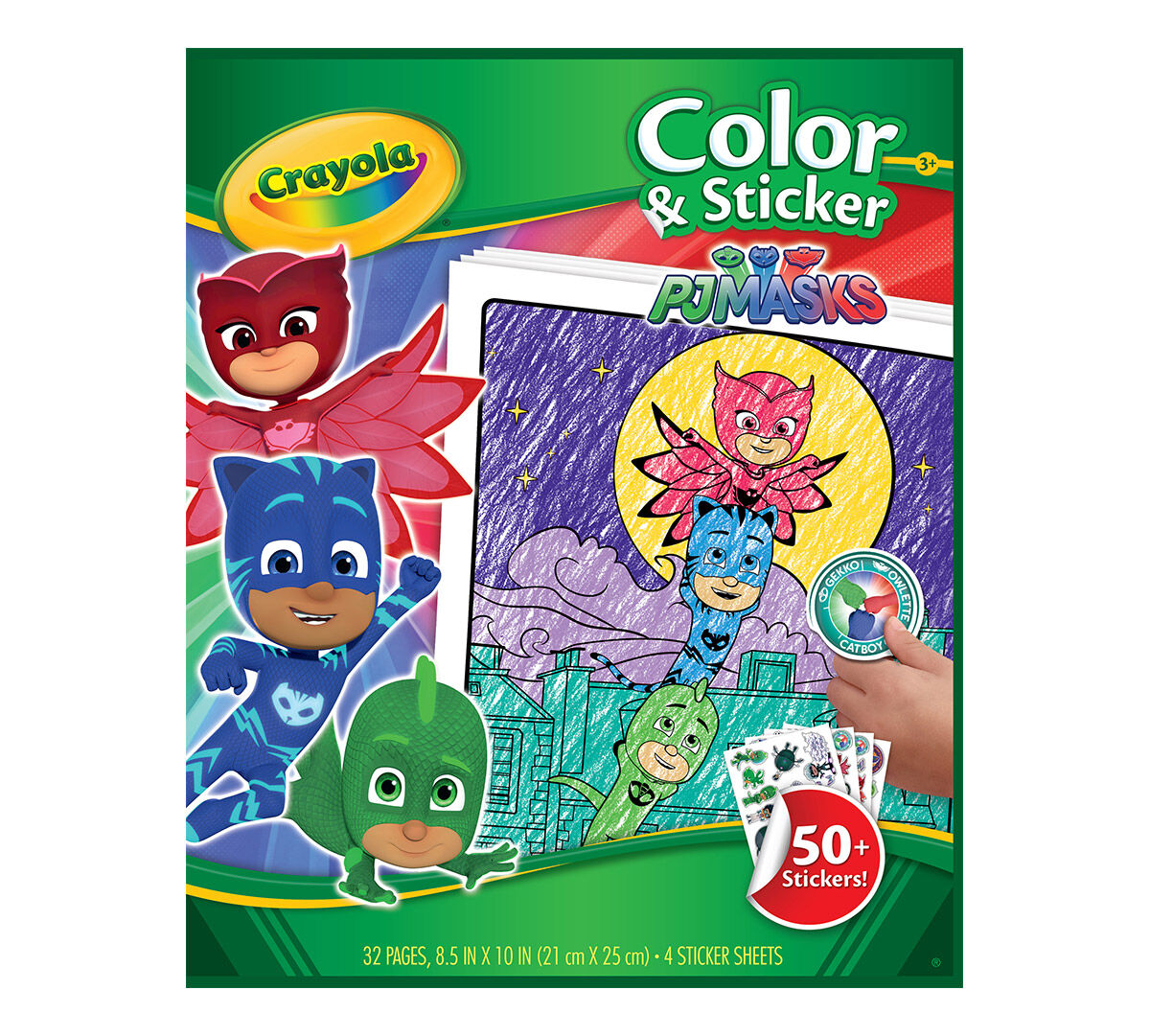 - PJ Masks Color & Sticker Gift Set Crayola.com Crayola
