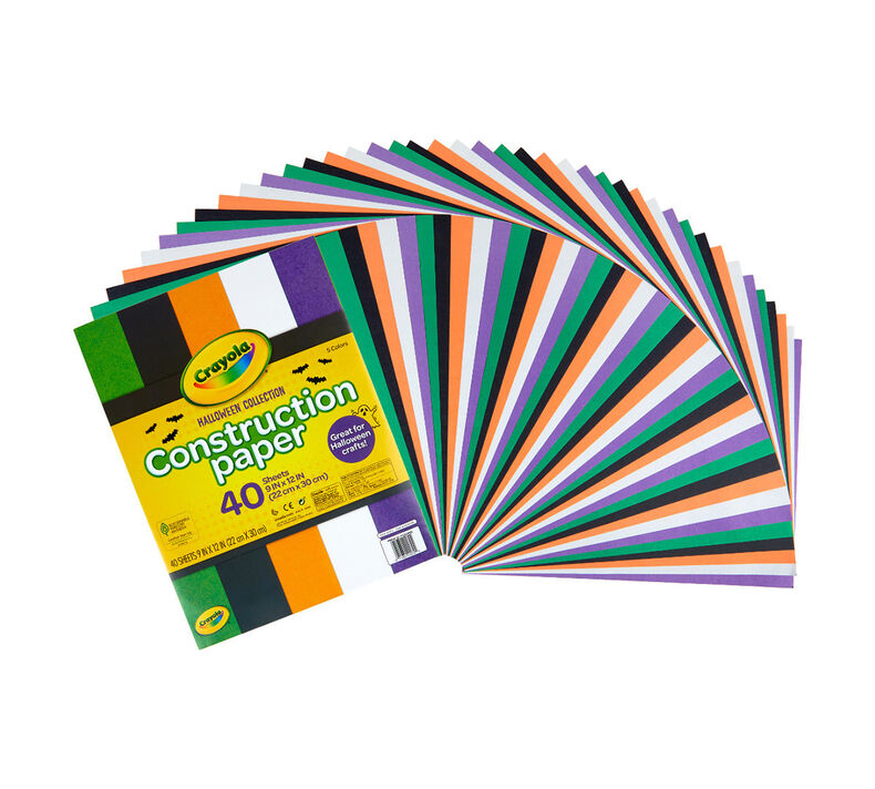 Fall Construction Paper, 40 Sheets