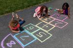 Washable Sidewalk Chalk, 24 Count front box