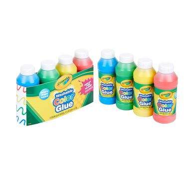 Color Glue 4 ct, 8 oz