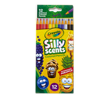 Silly Scents Colored Pencils 12ct