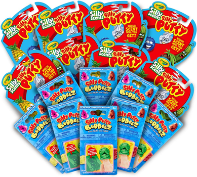 Silly Putty Kids Party Favors & Party Activity Set