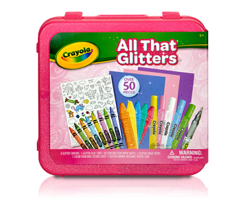 All That Glitters Art Case Front View