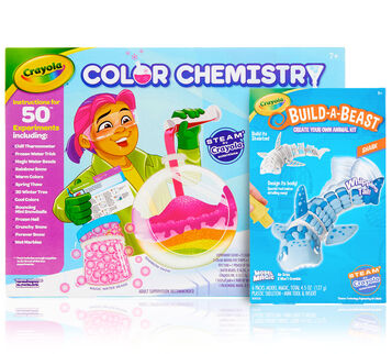 Arctic Color Chemistry & Build A Beast Shark Gift Set