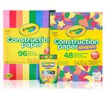 Crayon & Construction Paper Bundle Front View