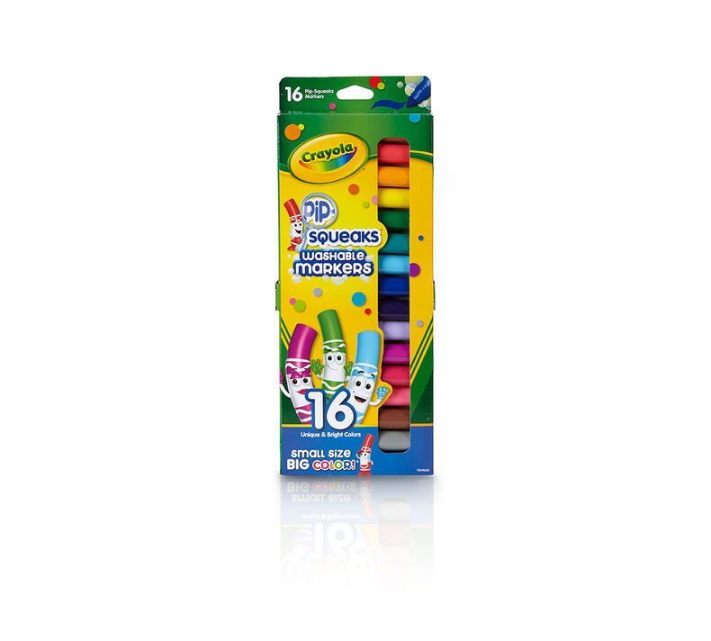 Pip-Squeaks Markers, 16 Count