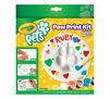 Pets Paw Print Kit - Circle Front of Pack