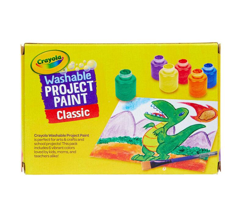 Washable Paint, 6 Count