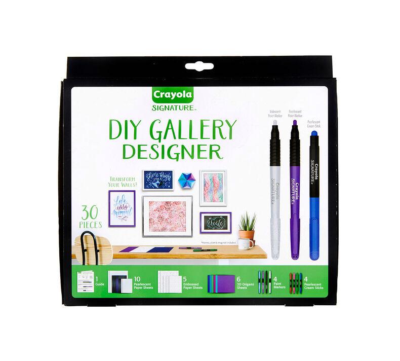 Signature DIY Gallery Designer Wall Art Set