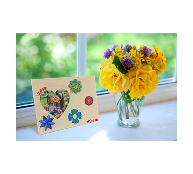 Decoupage Mothers Day Picture Frame Craft Kit Crayola Com Crayola