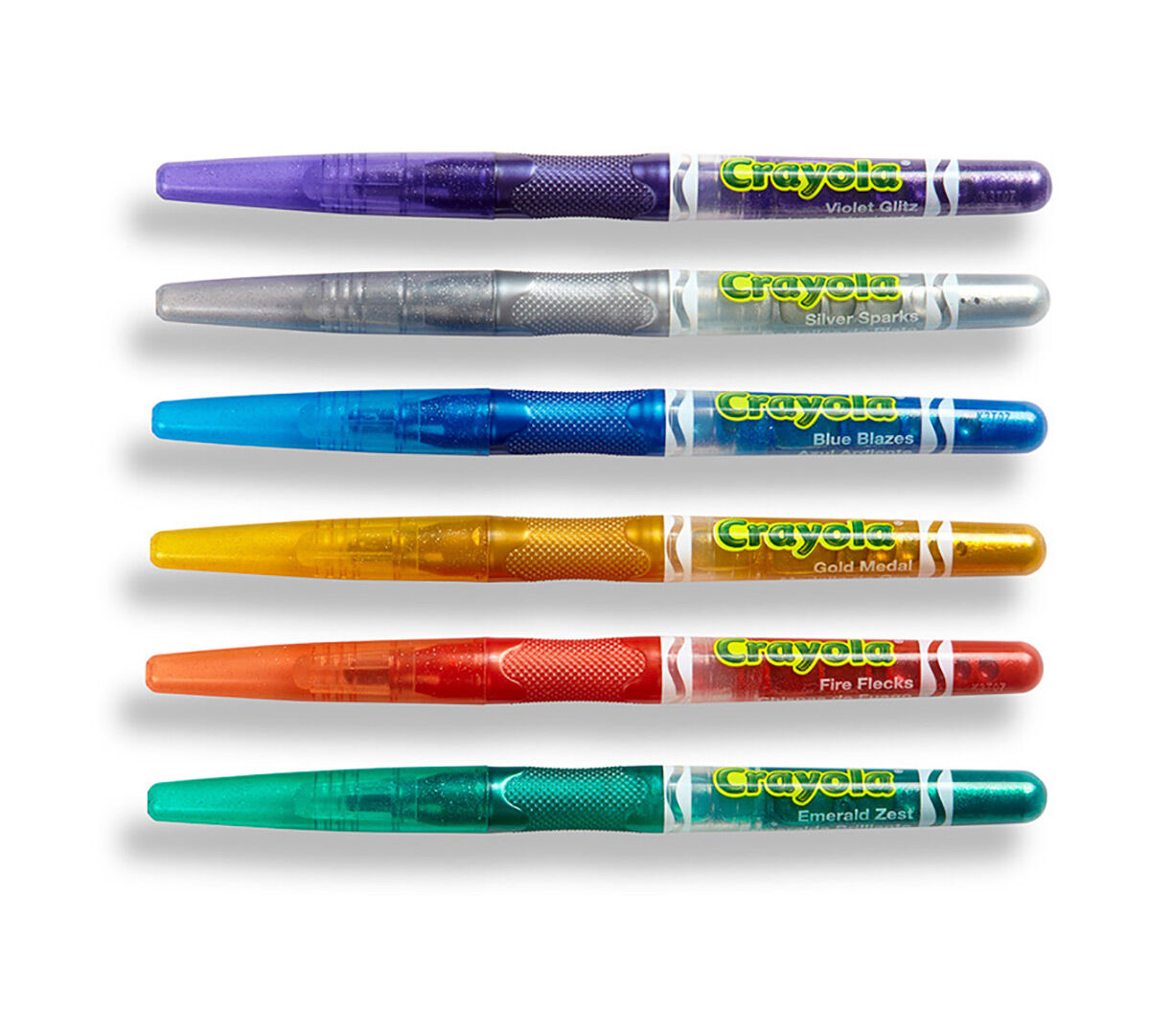 6 ct glitter markers crayola