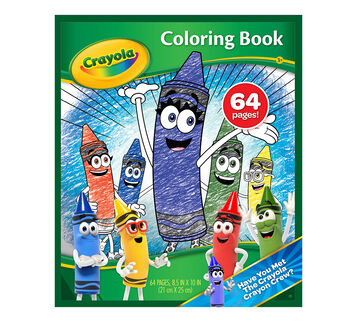 New Blue 64 Coloring Book Cover