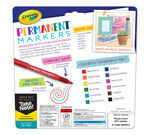 Take Note! 12 count Permenent Markers front panel