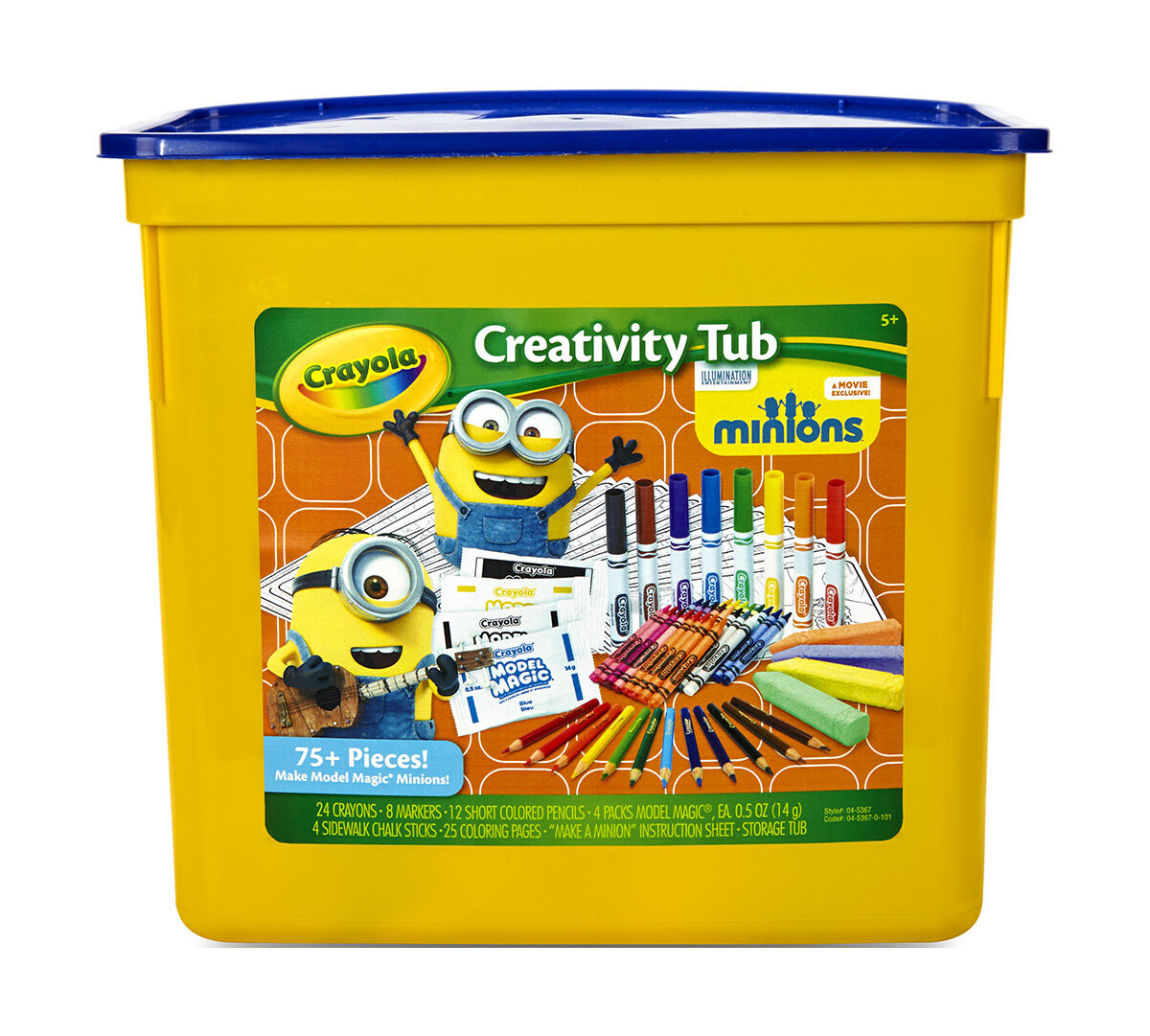 Creativity Tub, Minions