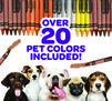 Over 20 Pet Colors Included!