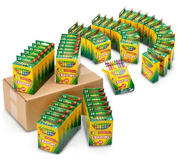 Crayon Classpack, 48 Individual Boxes of 24 Count Crayons
